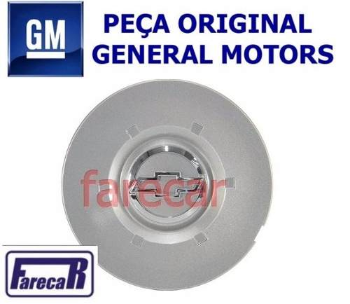 Calota Tampa Roda Vectra Elegance Original Gm 93395918  - Farecar Comercio