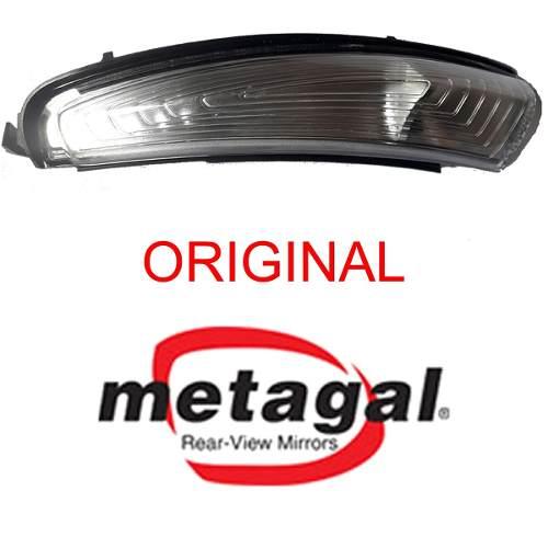 Lanterna de pisca seta do espelho retrovisor lado esquerdo Fiat Argo e Cronos 2016 2017 2018 2019  - Farecar Comercio