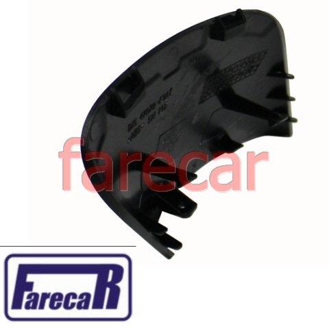 capa acabamento moldura da base do espelho retrovisor original Fiat Punto e Linea  - Farecar Comercio