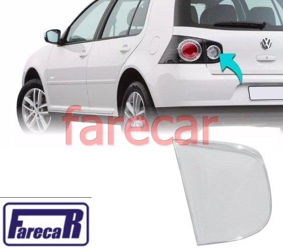 lente da lanterna traseira da tampa da mala Golf 2007 2008 2009 2010 2011 2012 2013 - 07 08 09 10 11 12 13  - Farecar Comercio