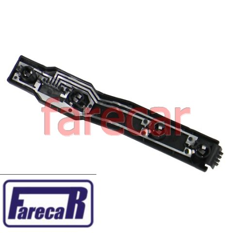 tampa com soquete das lampadas circuito da lanterna traseira Ford Escort 1984 a 1992 Hobby 1992 a 1996  - Farecar Comercio