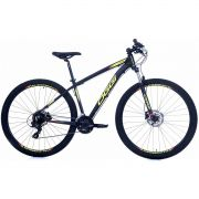Bicicleta Oggi Hacker HDS aro 29 24v  Hidraulico Amarelo