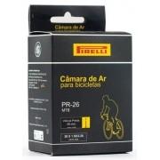 Câmara de ar Pirelli aro 26 bico fino válvula Presta
