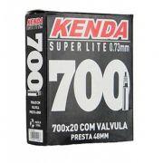 Câmera de ar Kenda 700x20 Super Lite 48mm Speed -