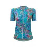 Camisa de Ciclismo Feminino Márcio May - Funny Premium Caribbean