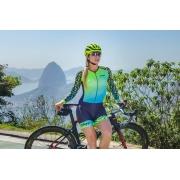Macaquinho Ciclismo Ciclopp - Manga Longa - Bolt Verde