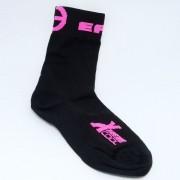 Meia Ert Xtreme Cool Preto/Pink