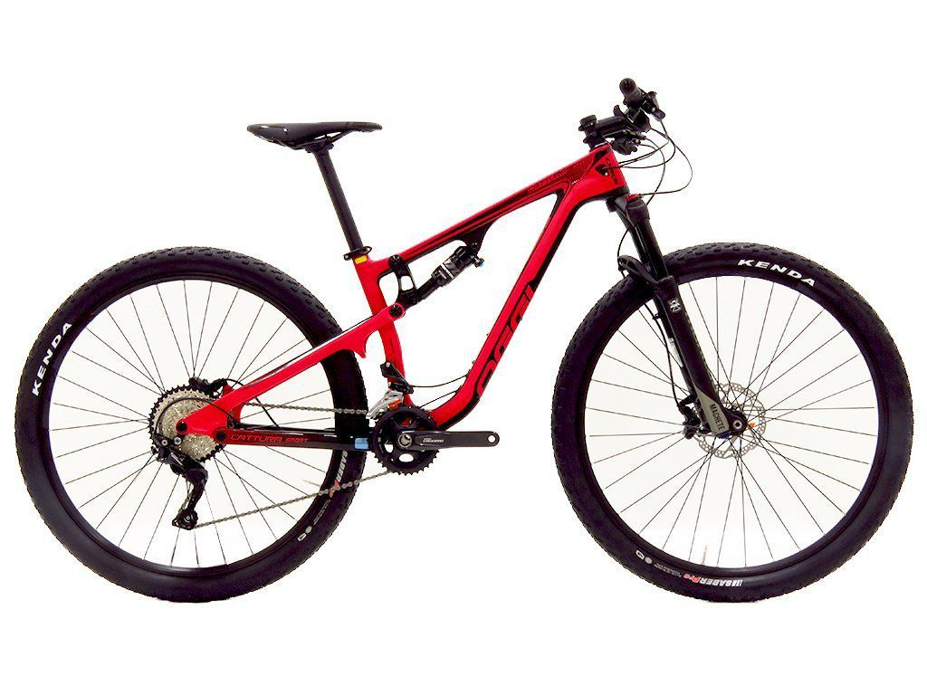 Bicicleta 29 Oggi Cattura  Sport Carbon Full Susp Deore