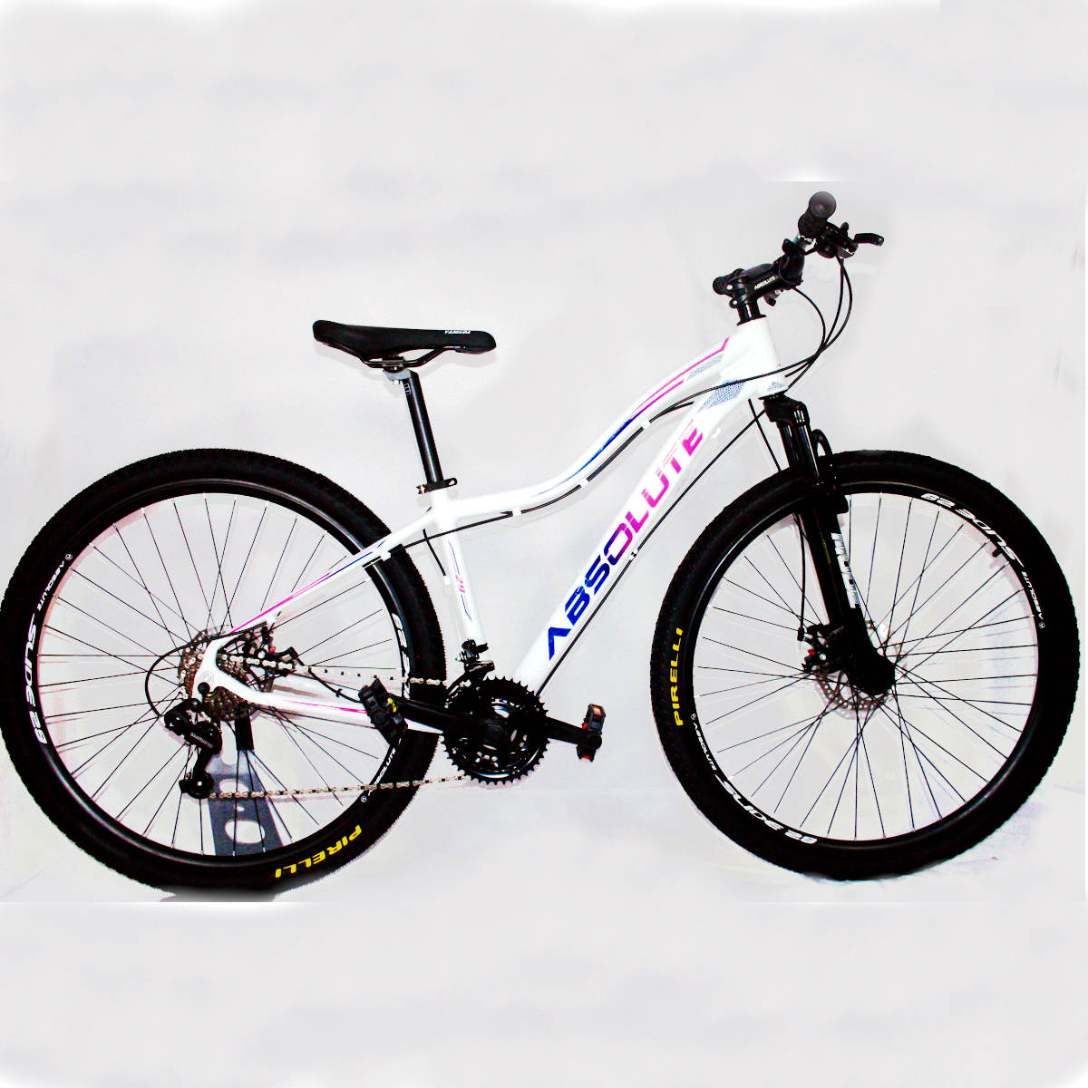 Bicicleta Absolute Hera Aro 29 Feminina  Branco