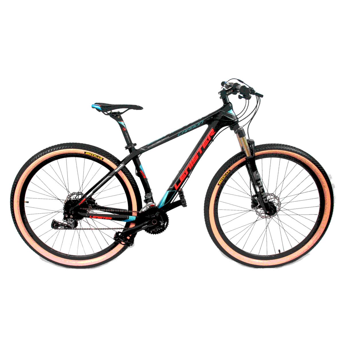 Bicicleta Aro 29 Mtb Redstone Lenister Carbon 27v Preto