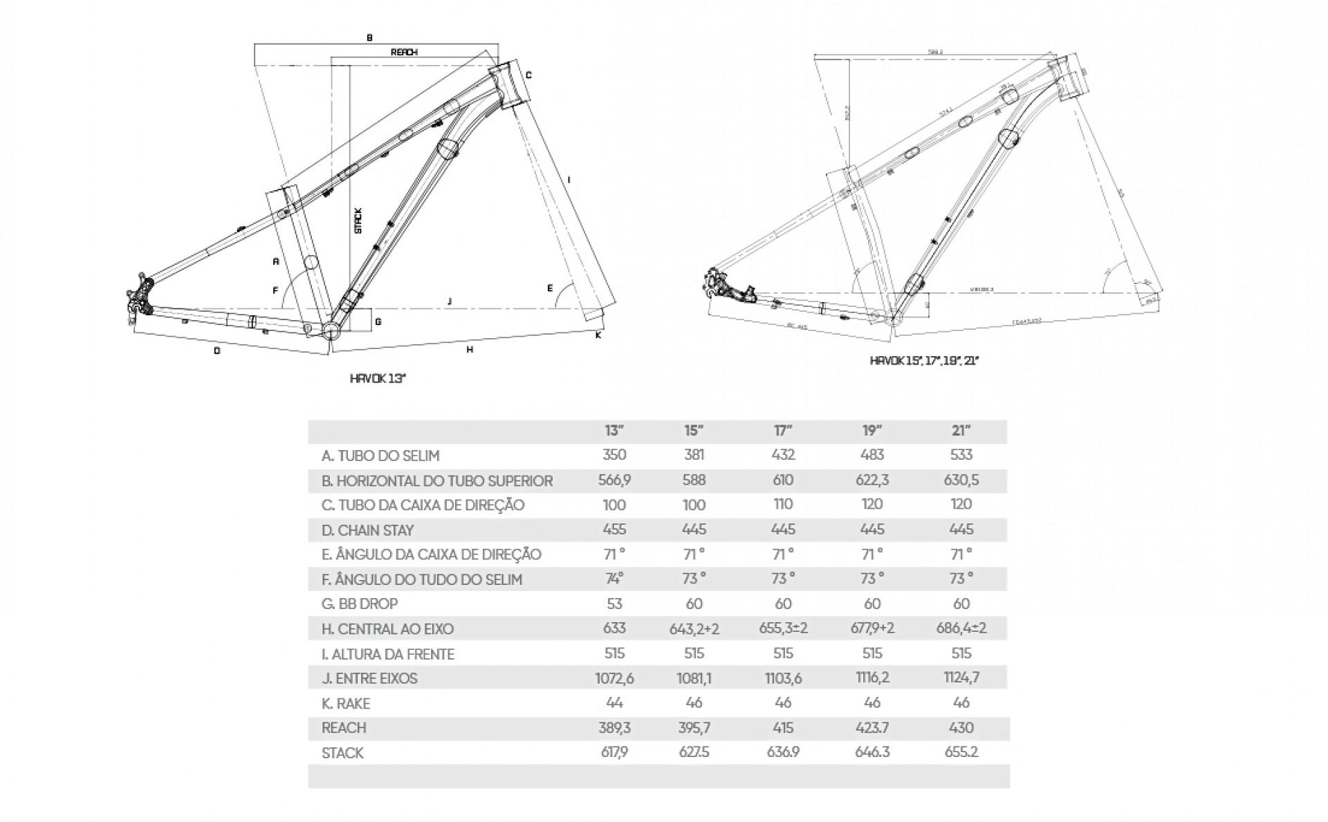 BICICLETA AUDAX HAVOK NX B ARO-29 PRETA  TAM 13