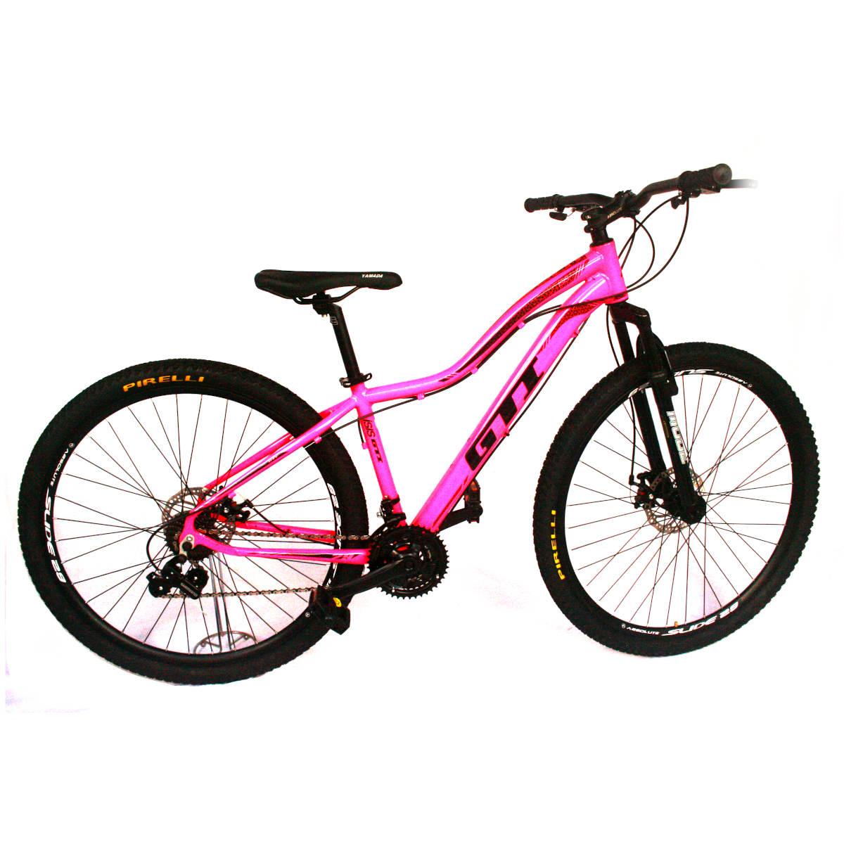 Bicicleta GTI ISIS  Aro 29 Feminina  ROSA