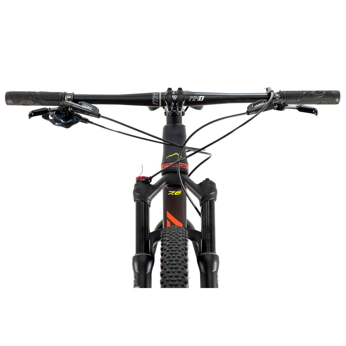 Bicicleta MTB  OGGI Big Wheel 7.6 2021 PRETO/VERM/AMARELO