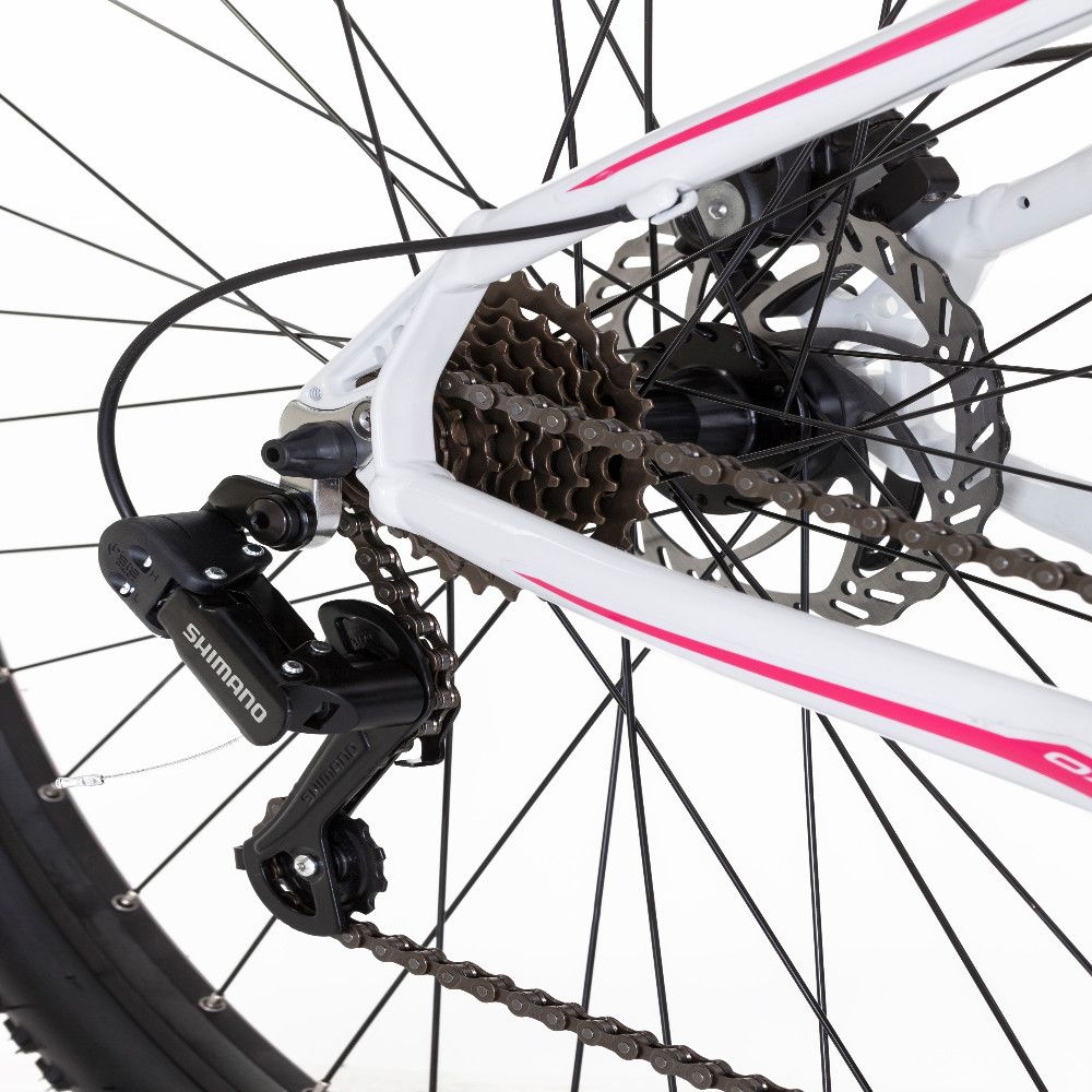 Bicicleta Mtb Ox Bike Aro 29 Hard Glide - Preto e Rosa