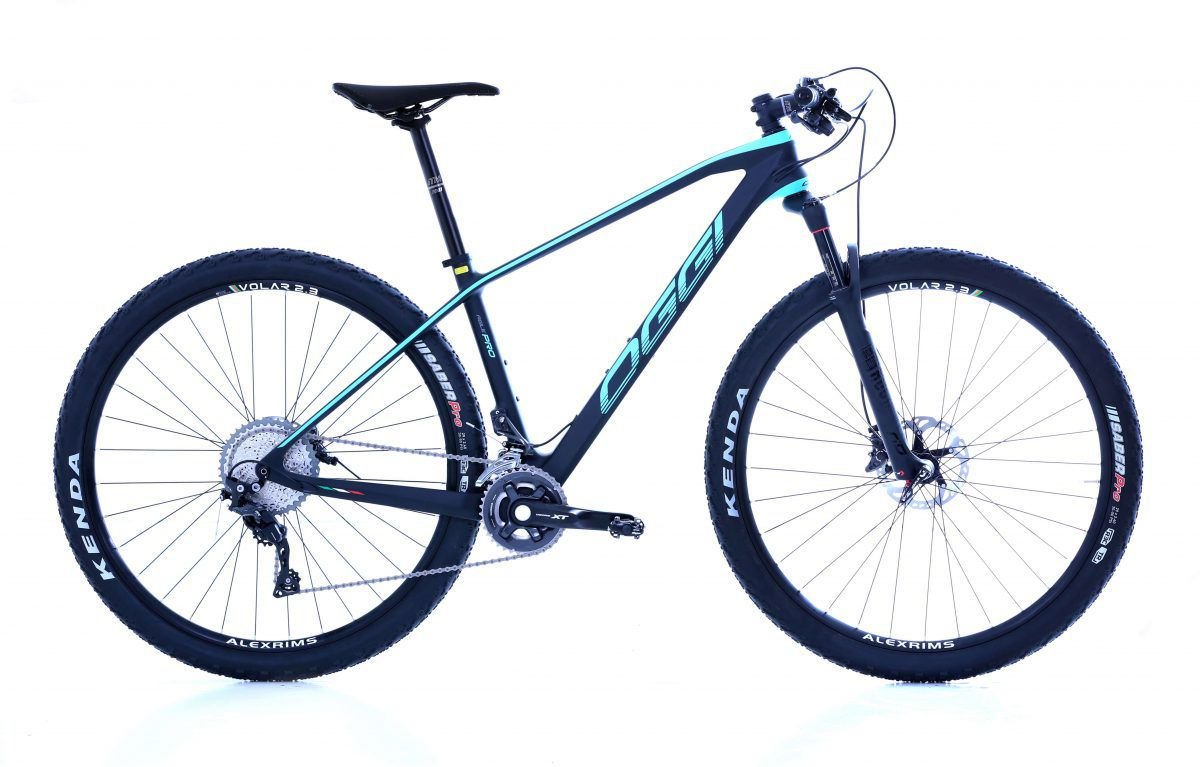 BICICLETA OGGI AGILE PRO XT CARBON 22v PTO/GRAF/BLUE 2019