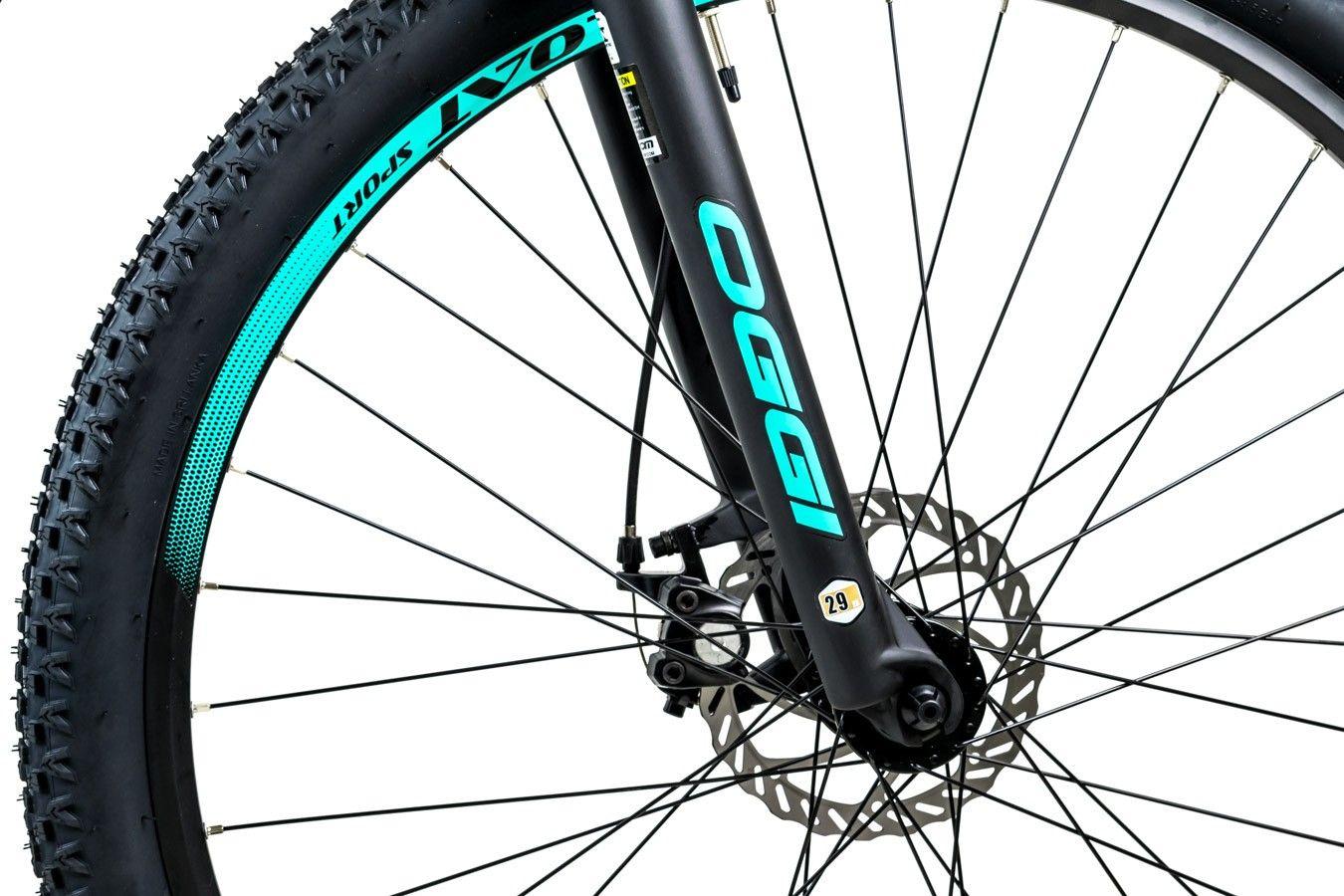 Bicicleta Oggi Float Sport 21v Feminina Preto/Azul