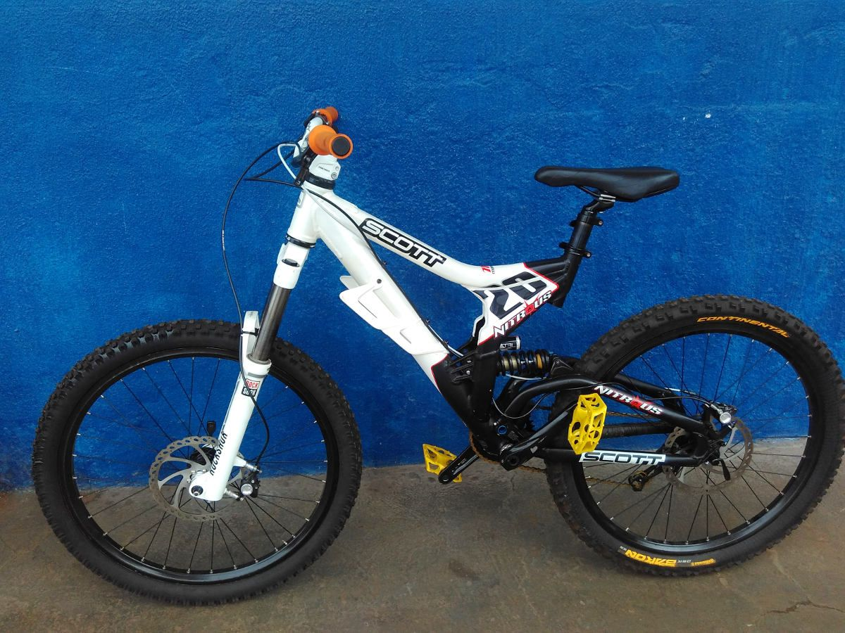 Bicicleta Scott Nitrous 20 - Full suspension Aro 26 - Usada
