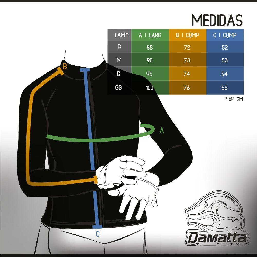 Camisa de ciclismo Damatta Chevron M/L - B/R