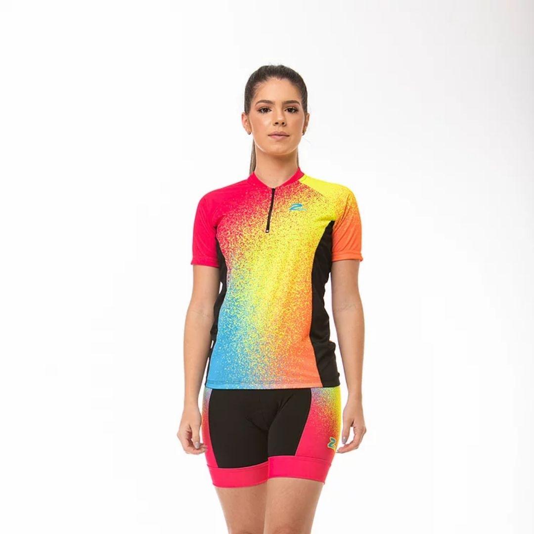 Camisa de Ciclismo Feminina Z-Nine - Ride