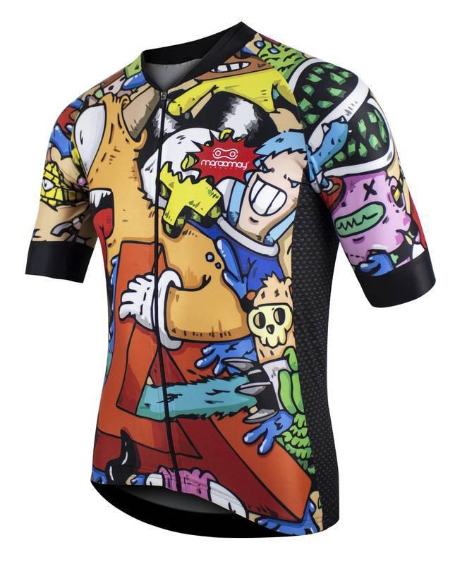 Camisa de Ciclismo Masculina Márcio May - Cartoon