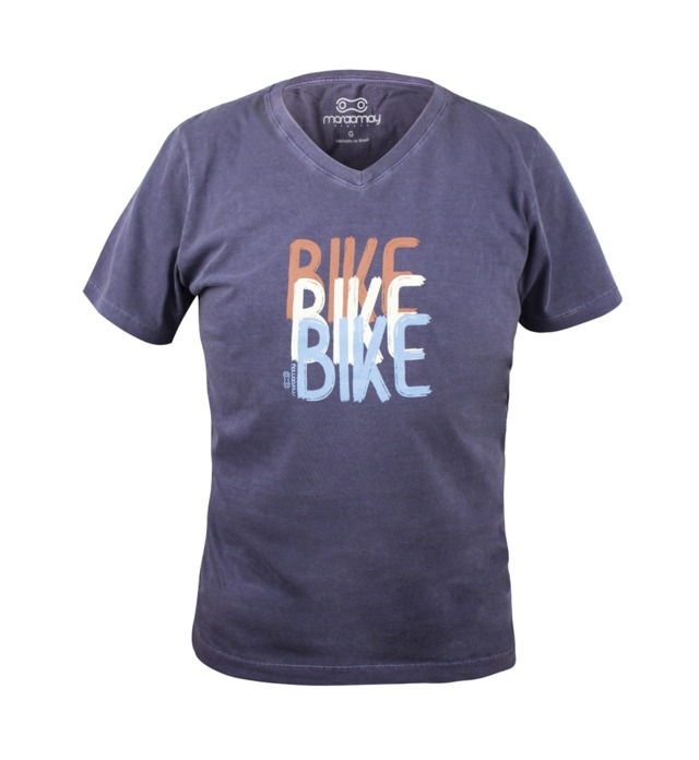 Camiseta Casual Unissex Marcio May Bike