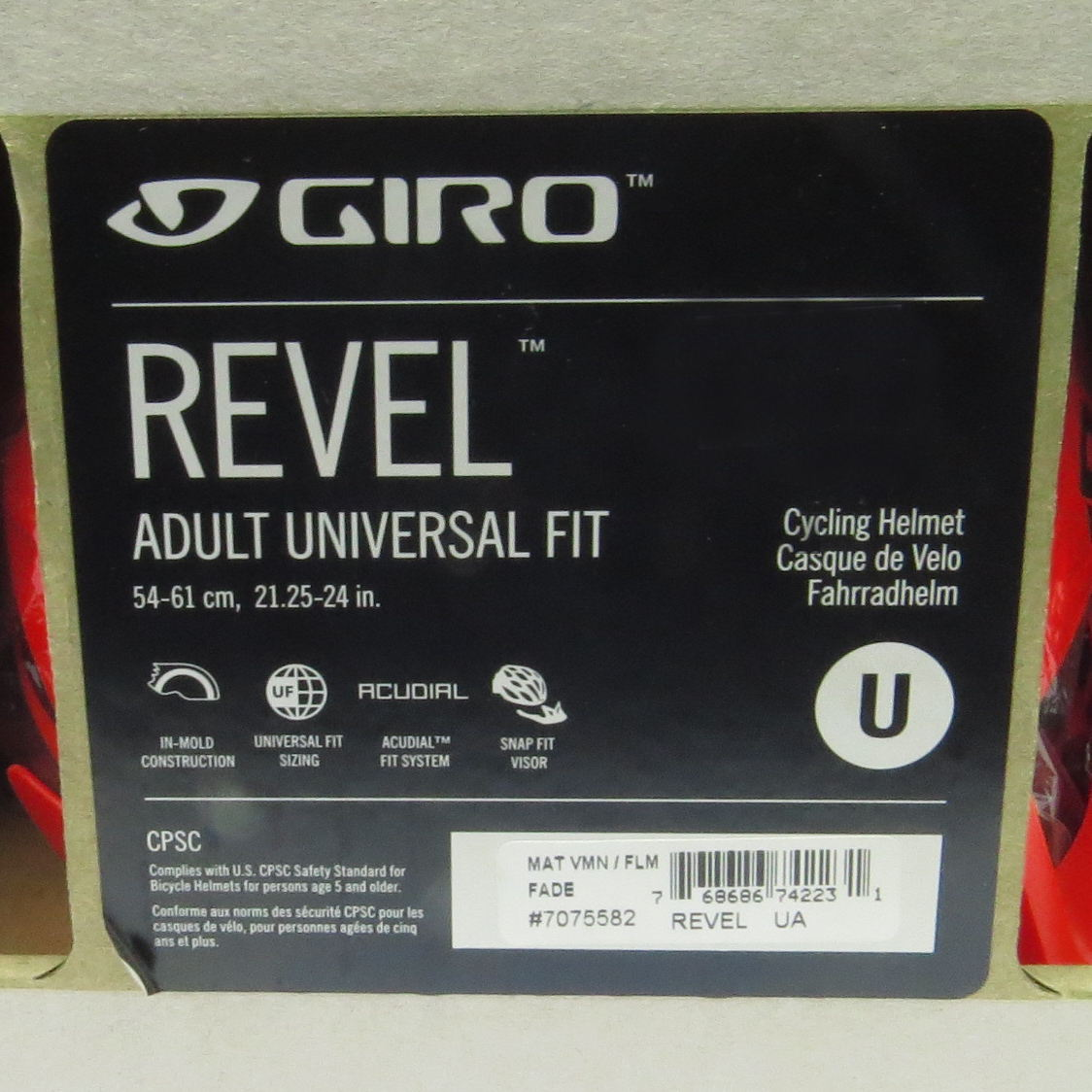 Capacete Giro Revel