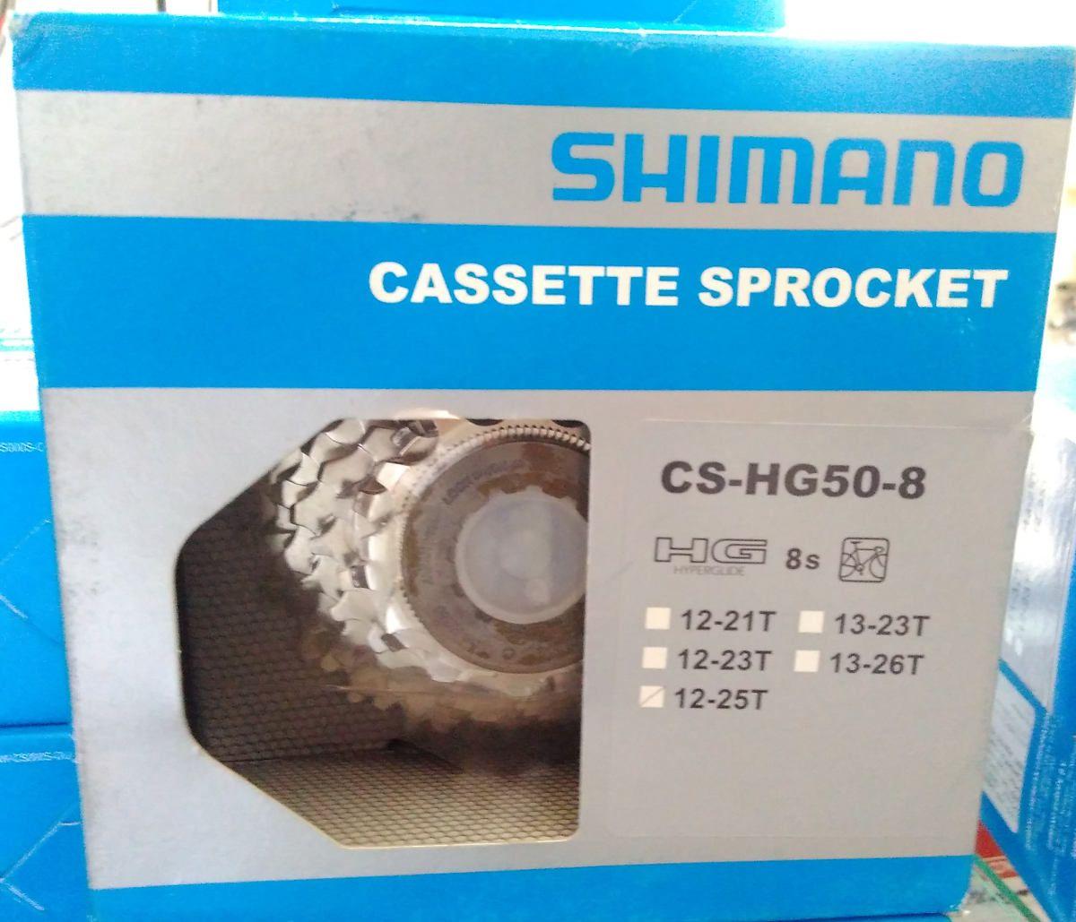 Cassete Speed Shimano Sora  Cs-Hg50- 8v 12-25t