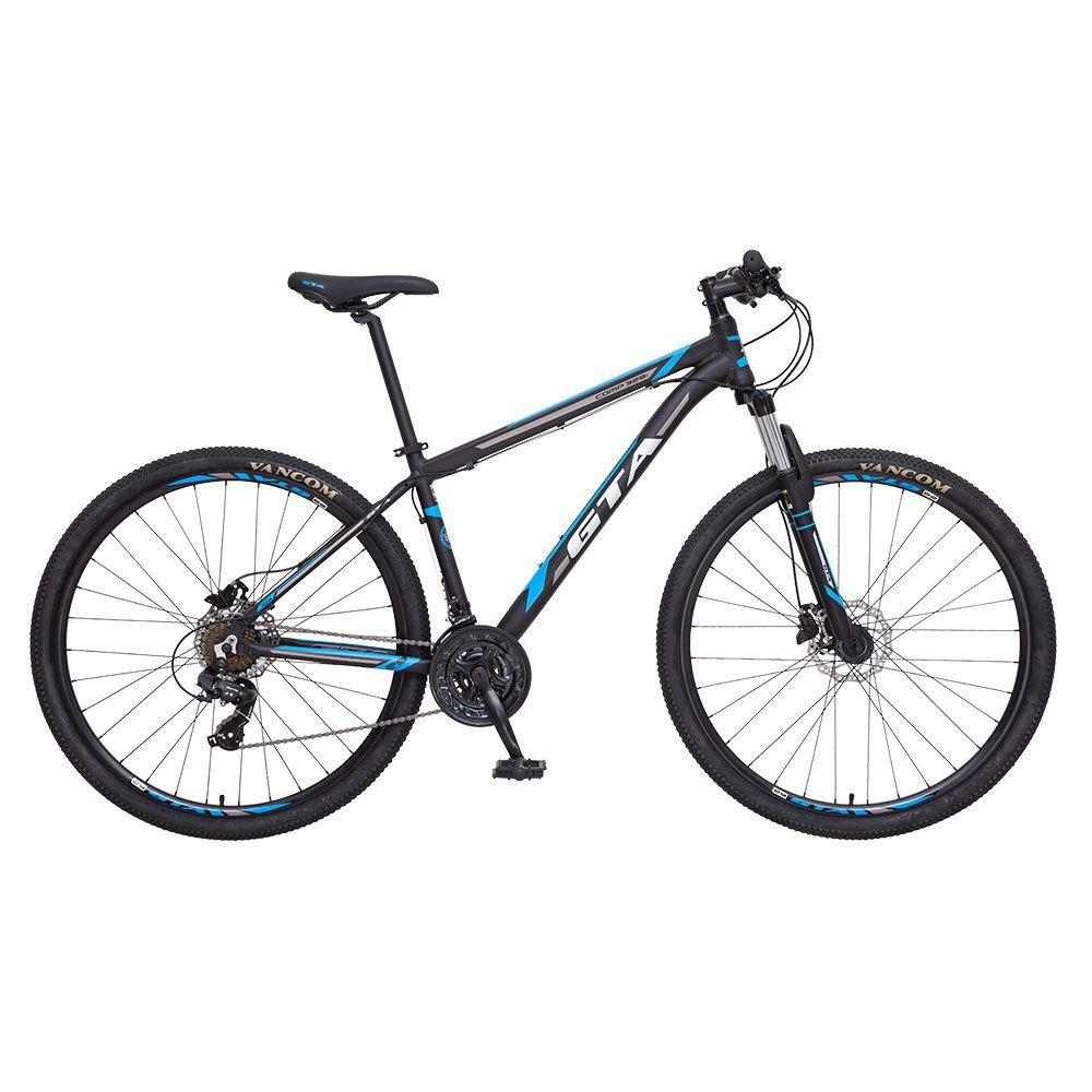 Bicicleta GTA  Comp 329 aro 29 Freio Hidráulico 21v Preto/Azul