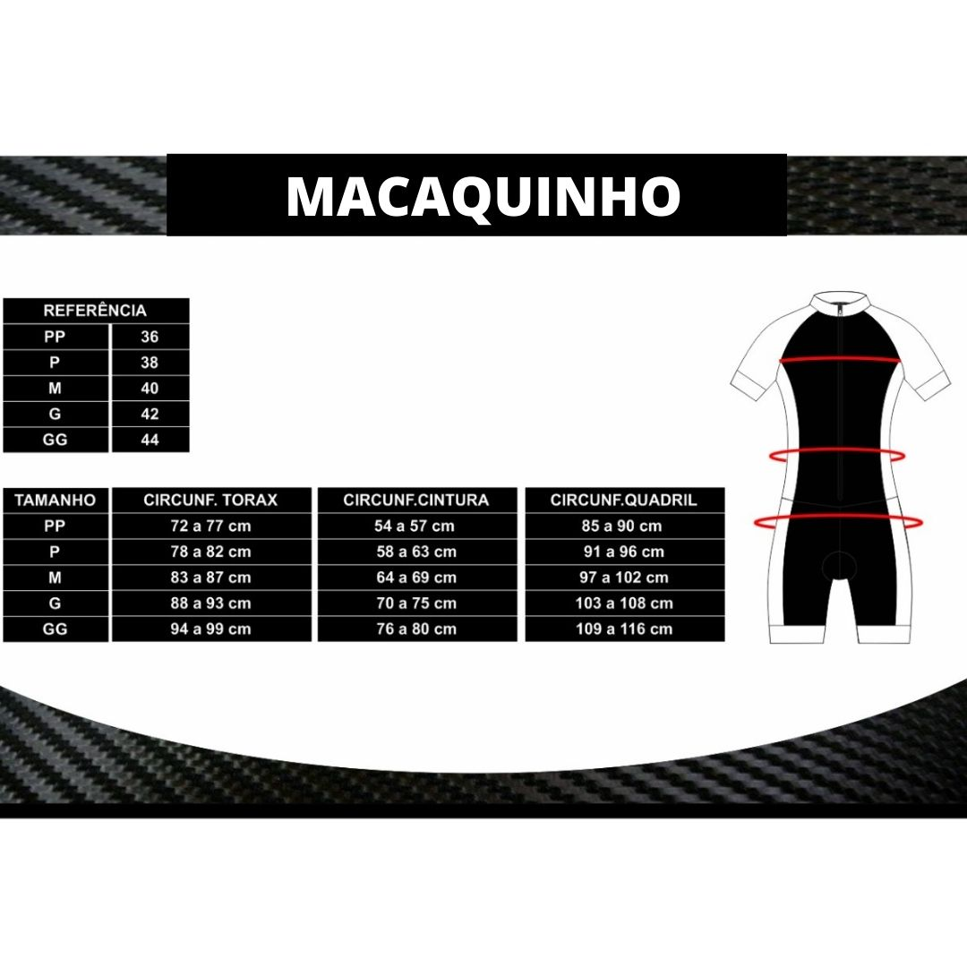 Macaquinho Ciclismo Ciclopp - Manga Longa - Flora