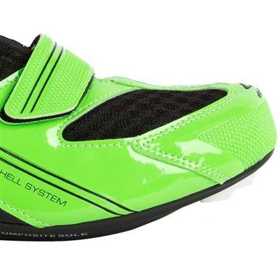Sapatilha Para Bike Spiuk Speed/MTB Uhra Verde/ Preto