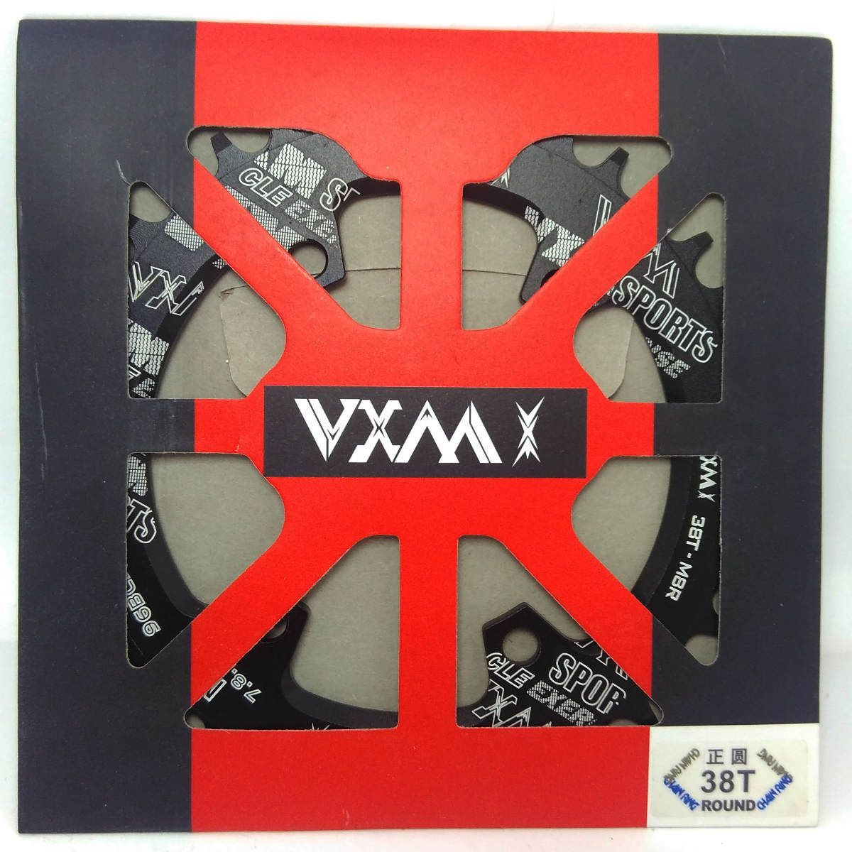 Coroa única Vxm 38 Dentes BCD 96mm  SLX XT e XTR