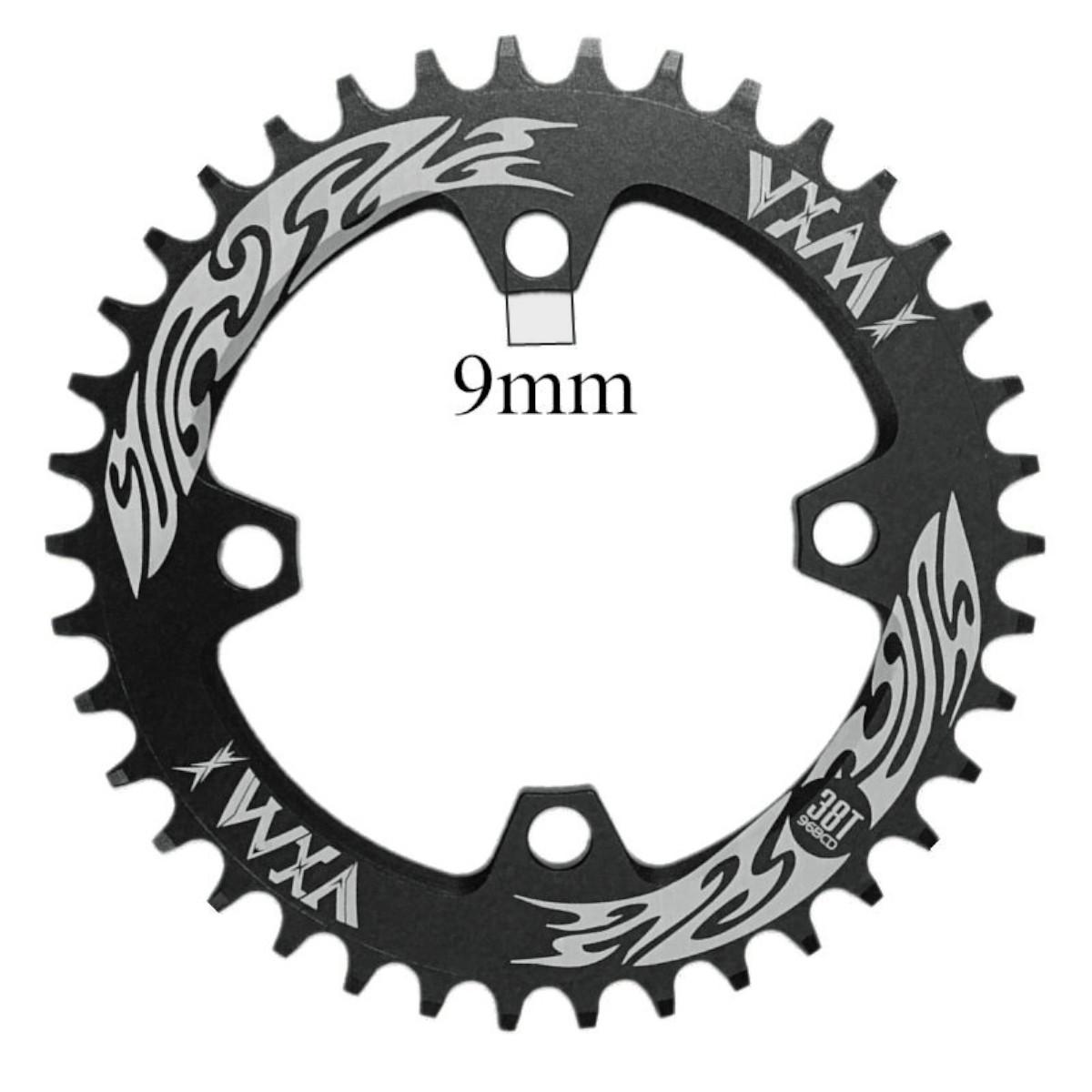 Coroa única Vxm  Dentes BCD 96mm  Simétrico +