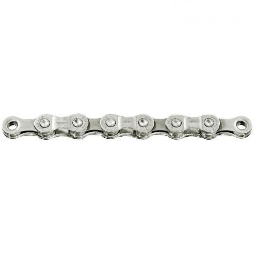 Corrente Sunrace 116 links Silver 9v