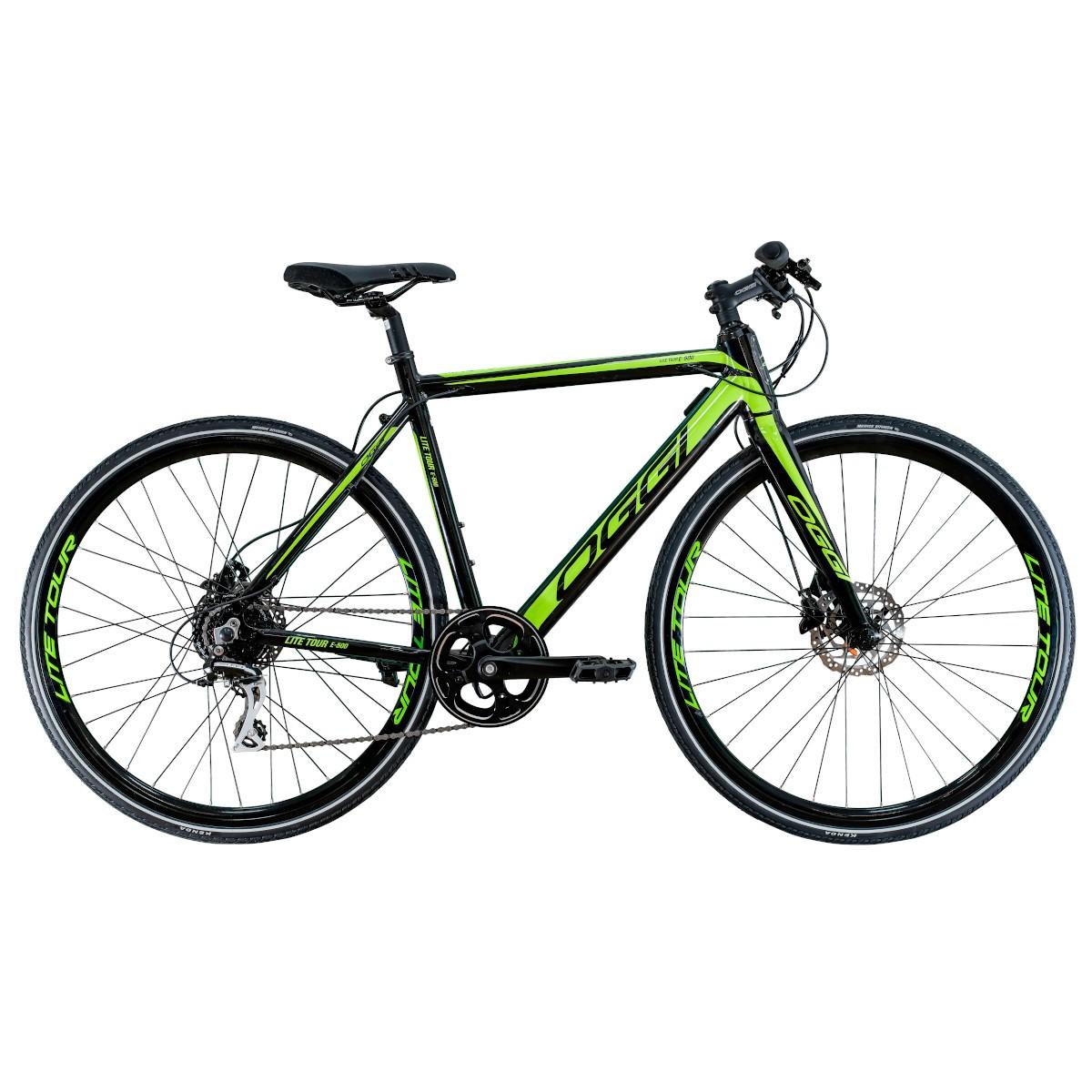 E-Bike OGGI 700C Lite Tour E-500 8V Pedal Assistido Verde