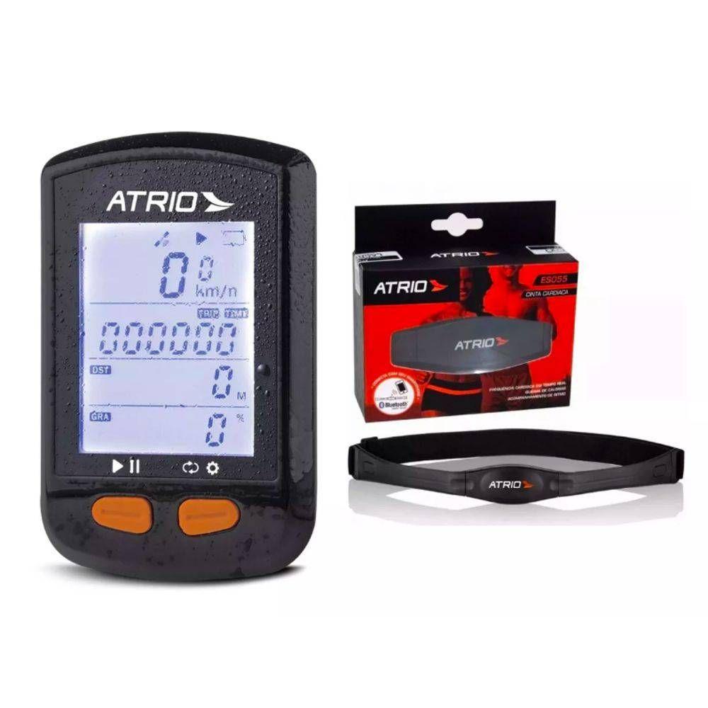 Gps Novo Atrio Steel Bi 132 Bluetooth + Cadencia + Cinta