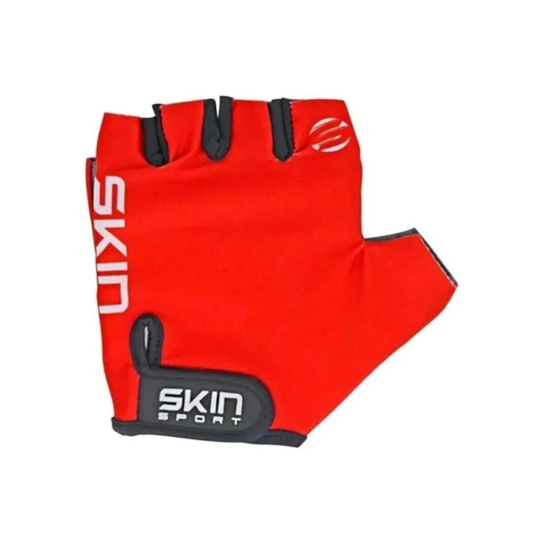 Luva Skin Sport Fun - Vermelha