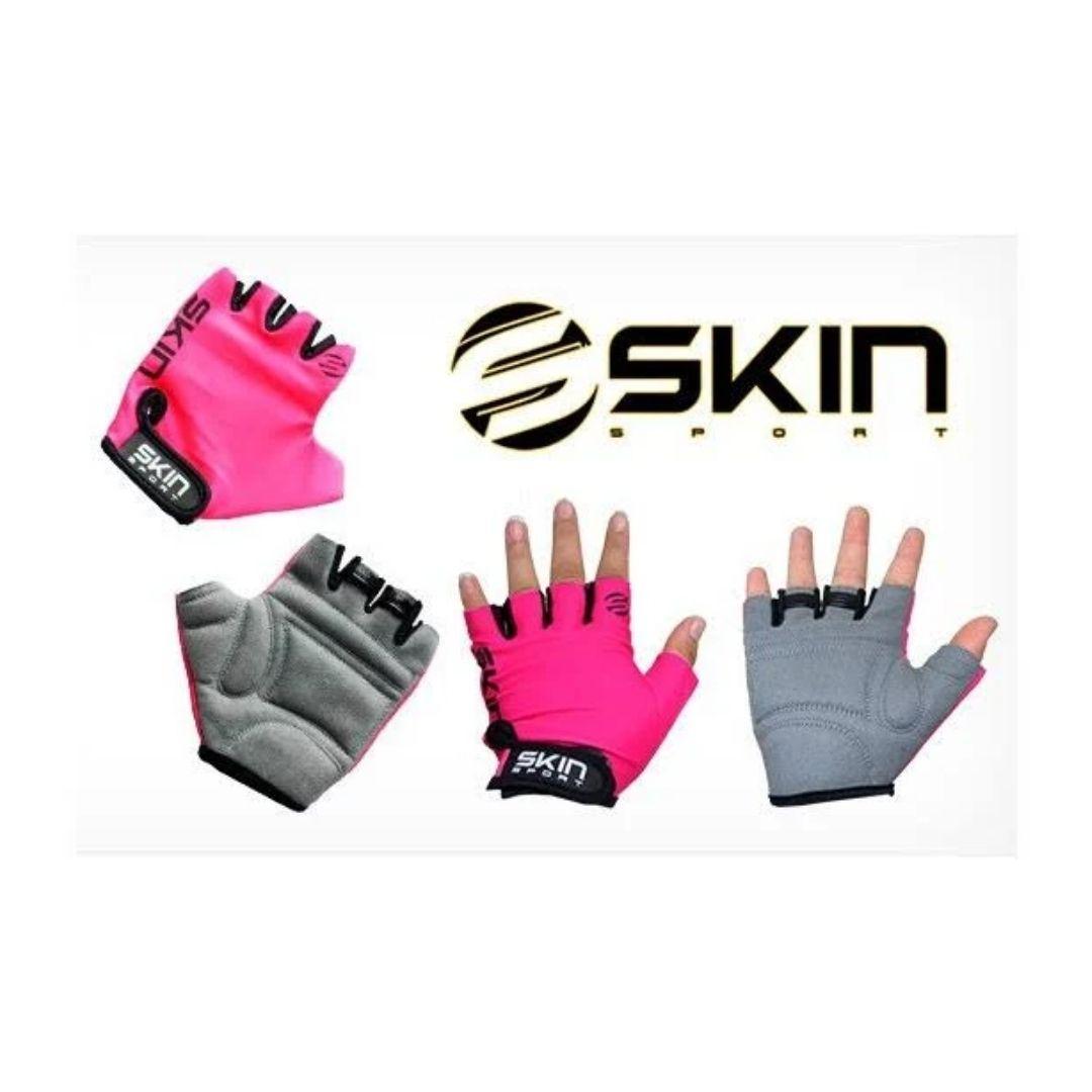 Luva Skin Sport Fun - Rosa