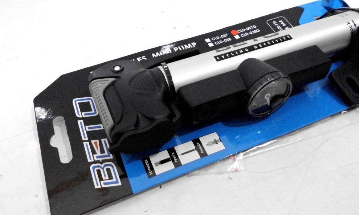 Mini Bomba Beto Cld-037g Telescopica Com Manometro