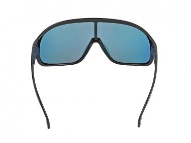 Óculos Absolute Nero - Preto Brilhoso, Lente Verm Polarizada