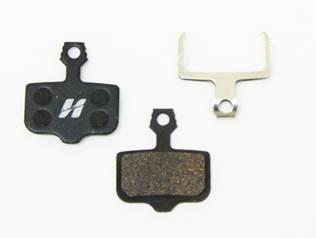Pastilha High One Semi Metálica - Compatível Com Avid