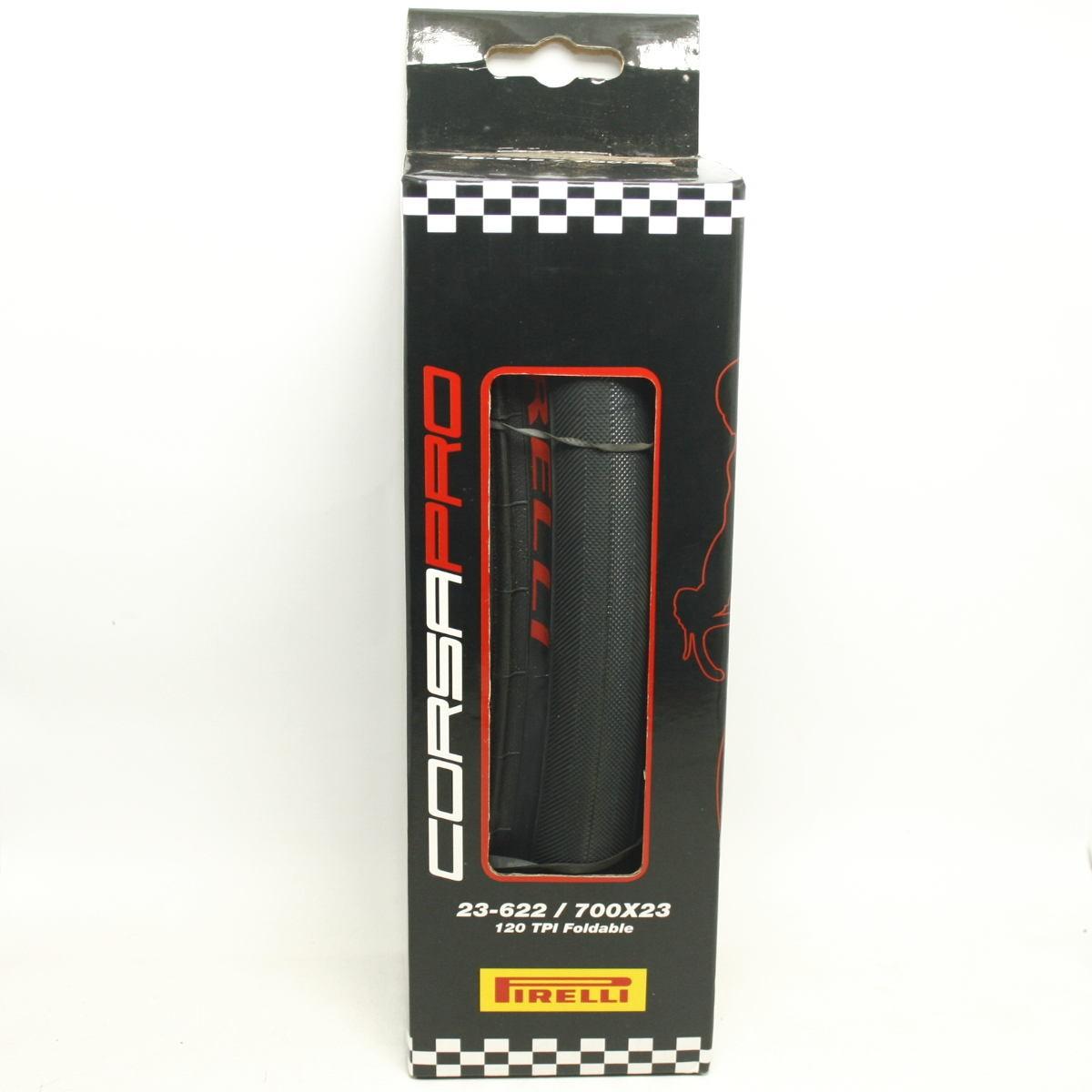 Pneu Pirelli Corsa Pro 700x23 120Tpi