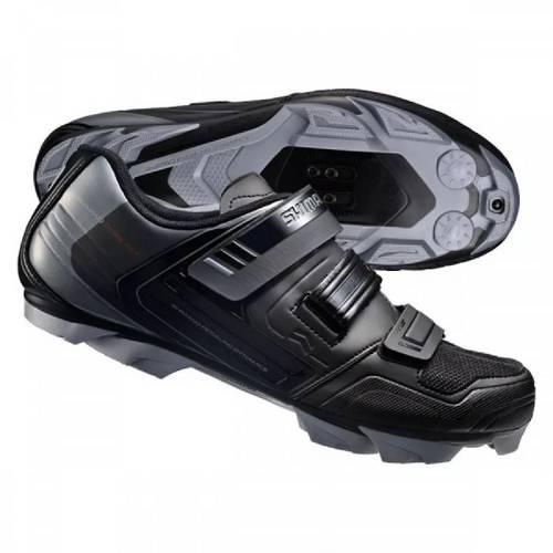 Sapatilha Shimano Sh-Xc31l Mtb 3 Velcros Preto