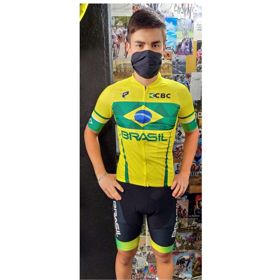 Uniforme Oficial Seleção Brasileira de Ciclismo Penks