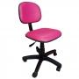 Cadeira Escritório Secretária Giratória Colorida Courvin