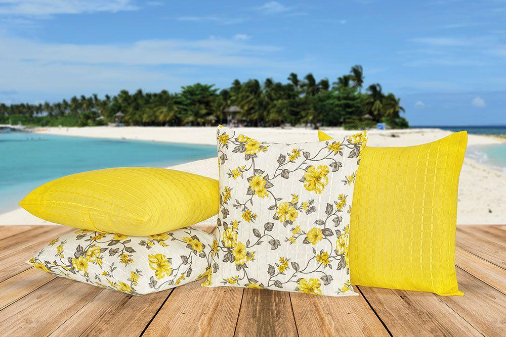 Almofadas Decorativas com Refil 8 Peças