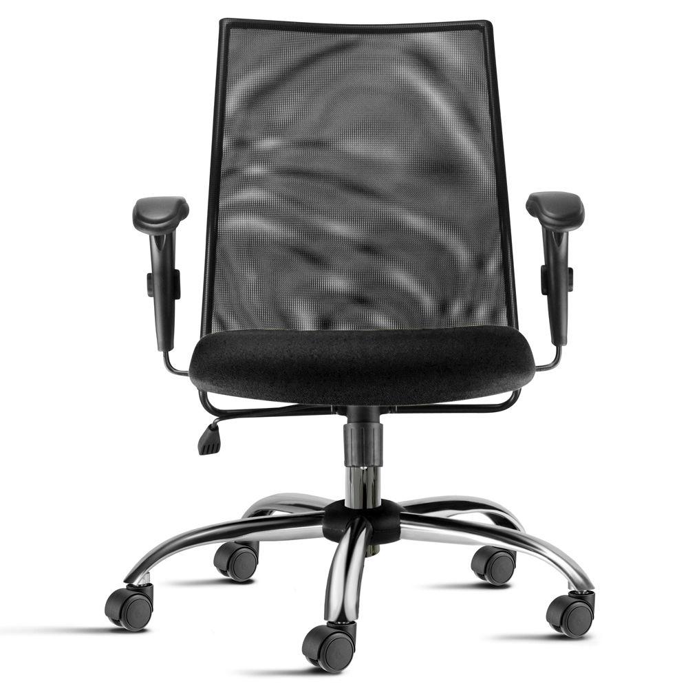 Cadeira Diretor Frisokar Liss Cromada