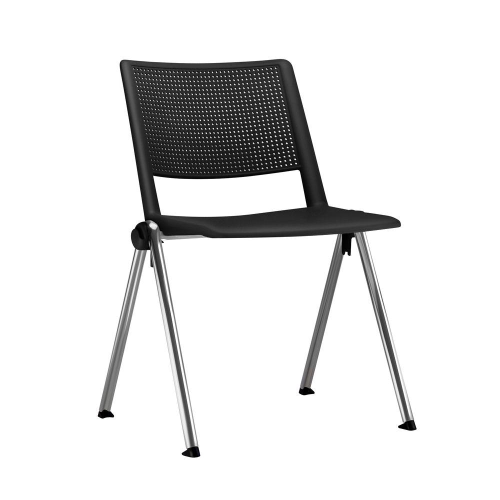 Cadeira Fixa Frisokar Up! Preto