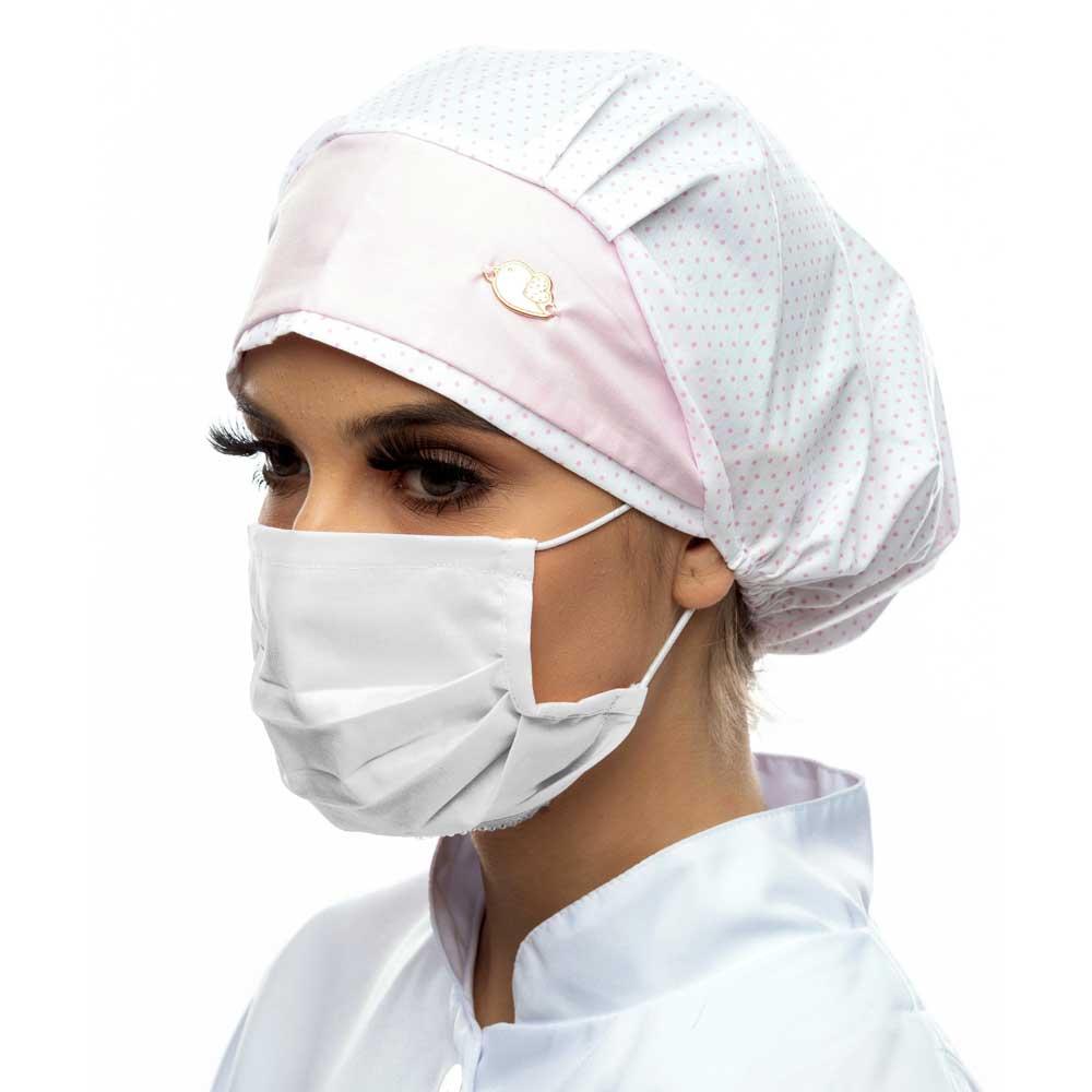 Kit 6 Máscaras de Tecido 100% Algodão 200 Fios Lavável e Reutilizável