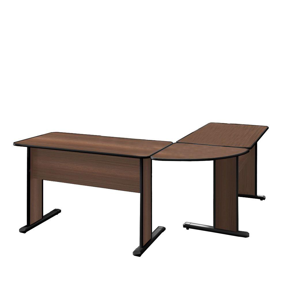 Mesa para Escritório com Conexão e Gaveteiro Pandin Maxxi
