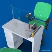 FX32- Proteção Em Acrilico para mesa 62x85 Cm